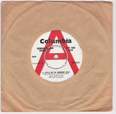 A LITTLE BIT OF SOMEONE ELSE / Get A Load Of This   UK DEMO pressing