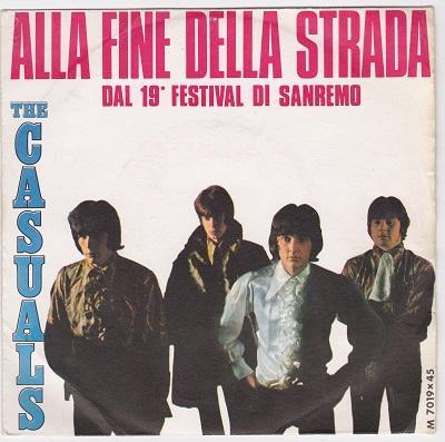 ALLA FINE DELLA STRADA / Non E Il Violino   Italian pressing