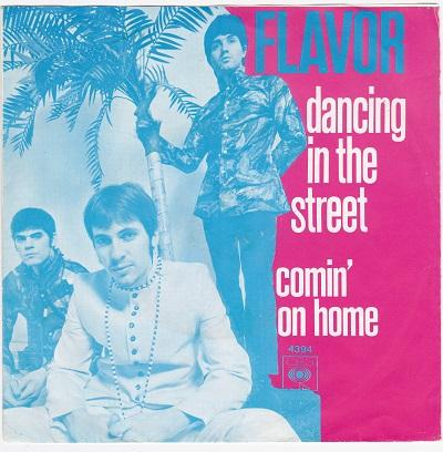 DANCING IN THE STREET / Comin'' On Home   Dutch pressing