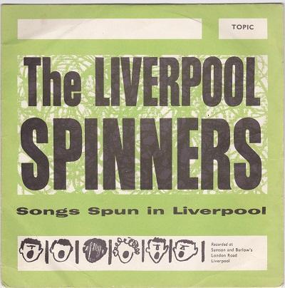 SONGS SPUN IN LIVERPOOL EP   UK pressing