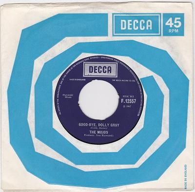GOOD-BYE, DOLLY GRAY / I Just Can''t Let Her Go   UK pressing