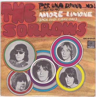 PER UNA DONNA…NO! ( LISTEN TO ME) / Amore Limone   Italian pressing