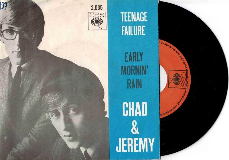 TEENAGE FAILURE / Early Mornin'' Rain