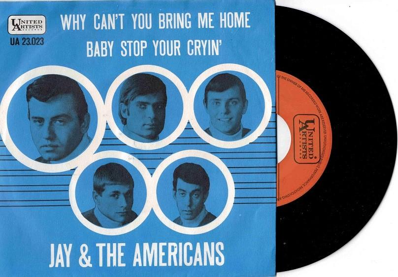 WHY CAN''T YOU BRING ME HOME / Baby Stop Your Cryin''
