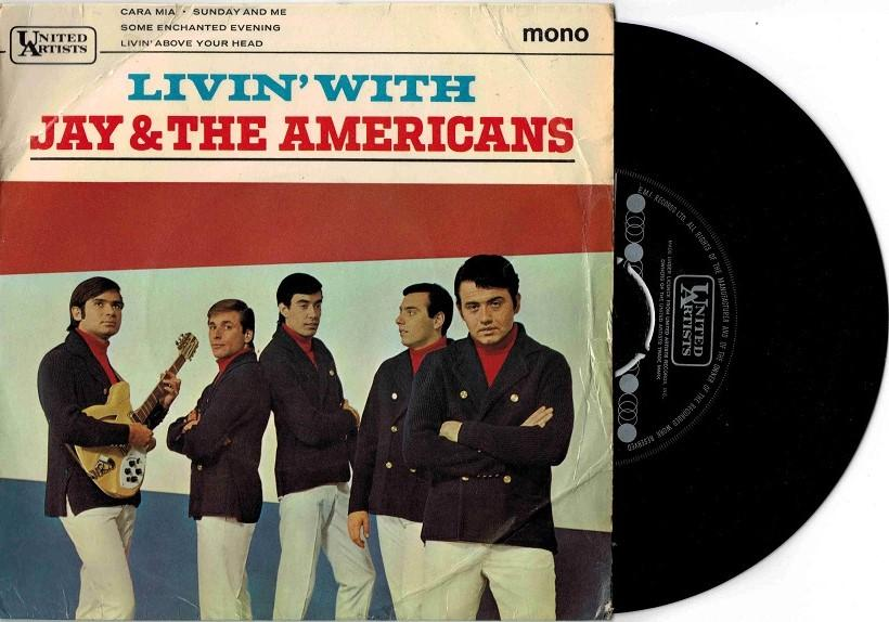 LIVIN'' WITH JAY & THE AMERICANS UK Pressing