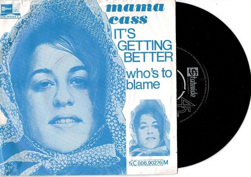 IT''S GETTING BETTER / Who''s To Blame