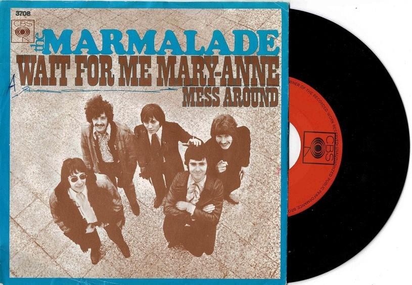 WAIT FOR ME MARY-ANNE / Mess Around