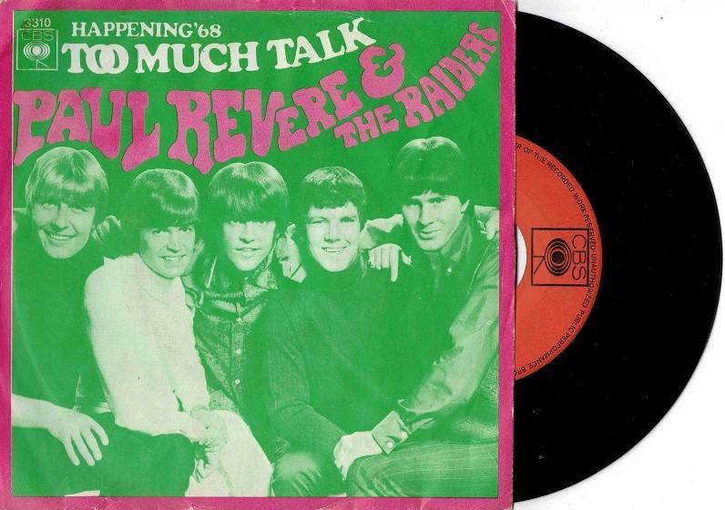 TOO MUCH TALK / Happeninh ''68