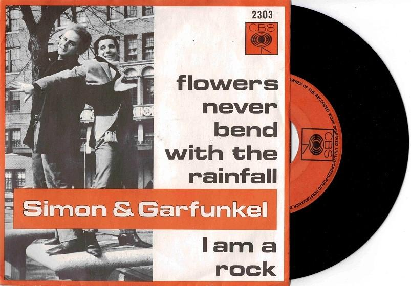 FLOWERS NEVER BEND WITH THE RAINFALL / I Am A Rock