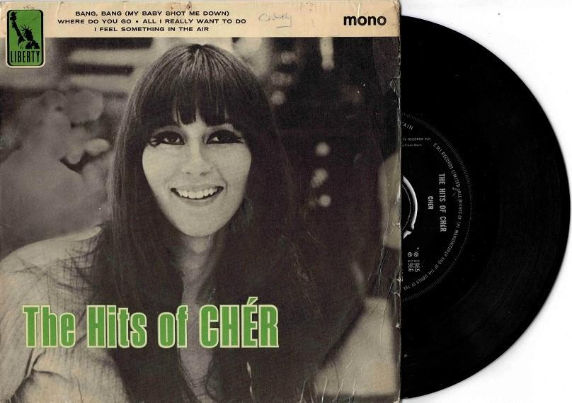 THE HITS OF CHÉR UK Pressing