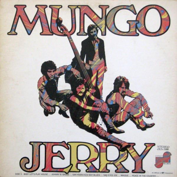 MUNGO JERRY UK Pressing