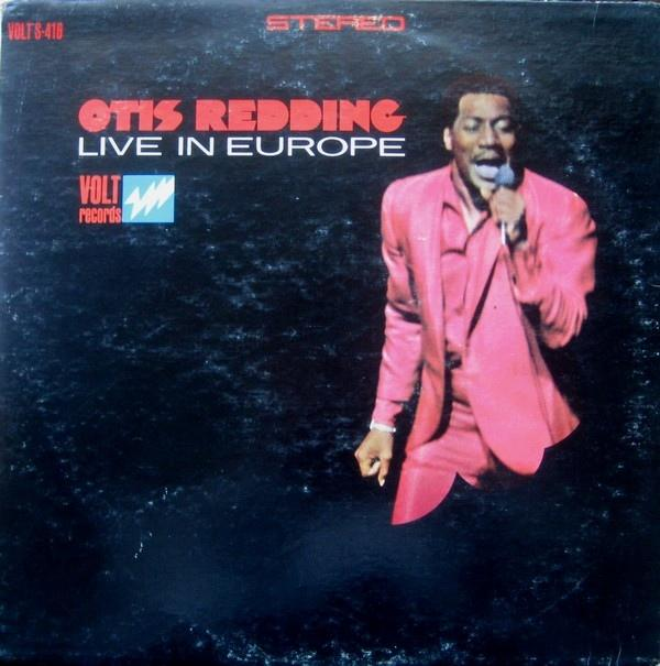 OTIS REDDING LIVE IN EUROPÉ US Pressing