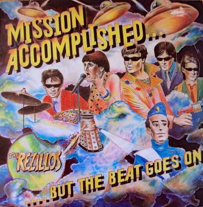 MISSION ACCOMPLISHED… BUT THE BEAT GOES ON UK Pressing