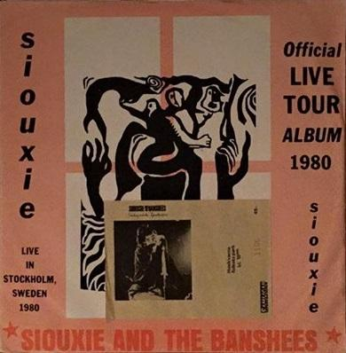 OFFICIAL LIVE TOUR ALBUM 1980 Rare Release With Sleeve & Concert Ticket