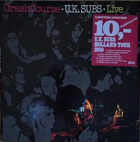CRASH COURSE - LIVE With A Piece Of Paper Signed By The Band