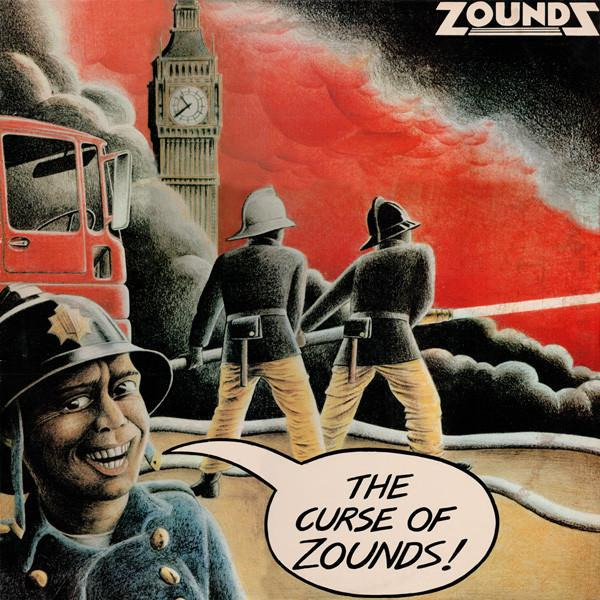 THE CURSE OF ZOUNDS Original Pressing With Innersleeve