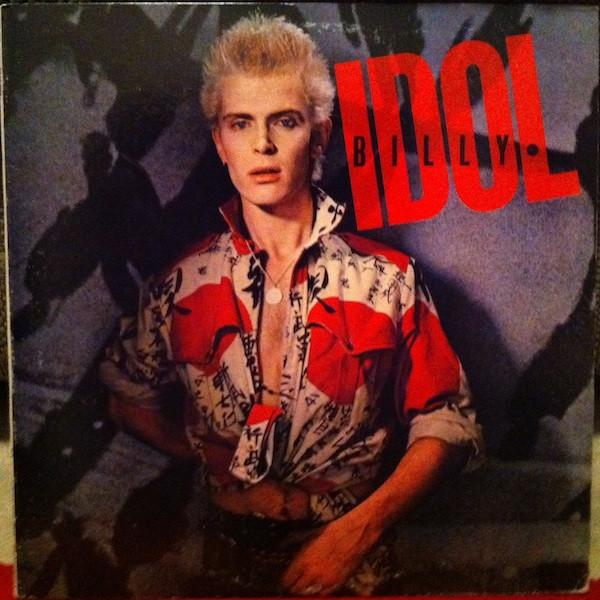 BILLY IDOL US Pressing