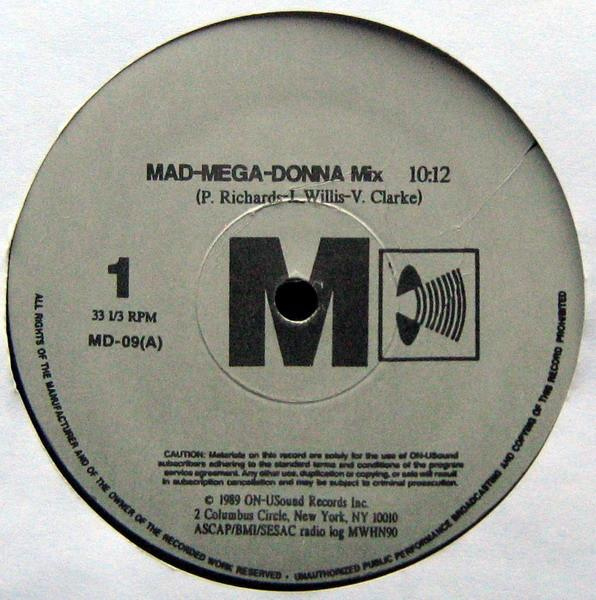 MAD-MEGA-DONNA MIX Unofficial Release