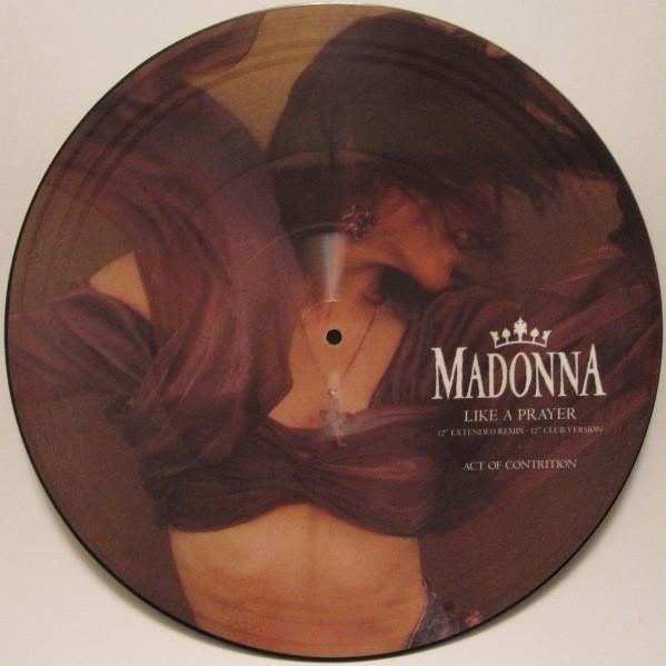 LIKE A PRAYER UK Pressing - Picture Disc