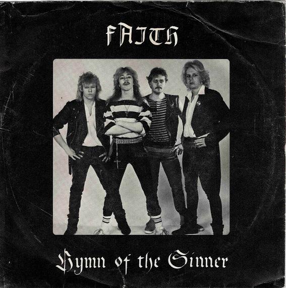 HYMN OF THE SINNER Super-Rare Swedish Heavy Metal