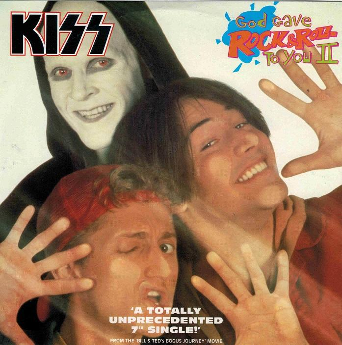 GOD GAVE ROCK & ROLL TO YOU II (Kiss) / Junior''s Gone Wild (King''s X)