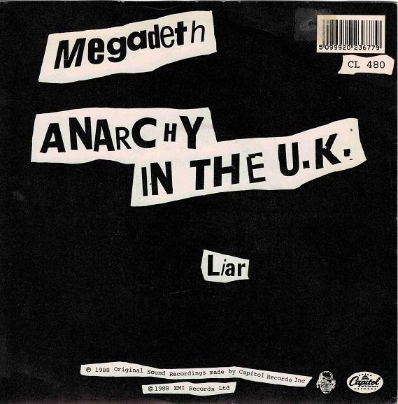 ANARCHY IN THE U.K. / Liar