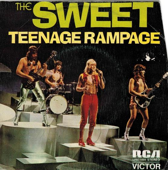TEENAGE RAMPAGE / Own Up, Take A Look At Yourself (Mirate A Ti Mismo)