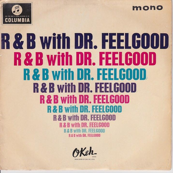 R&B WITH DR. FEELGOOD EP   UK pressing