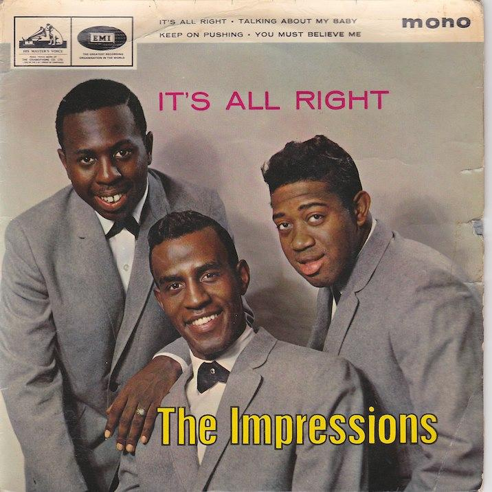IT'S ALL RIGHT EP   UK pressing