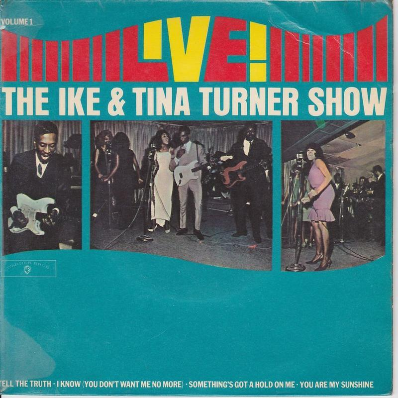 THE IKE AND TINA TURNER SHOW VOL.1 EP   UK pressing