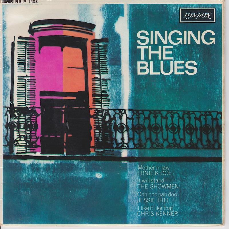 SINGING THE BLUES EP   UK pressing
