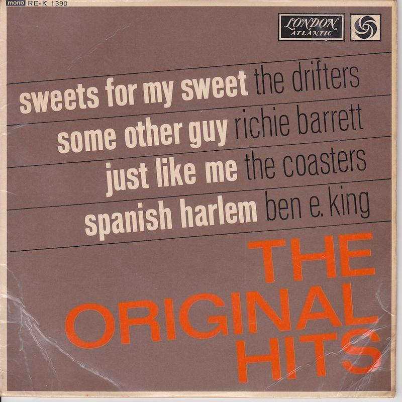 THE ORIGINAL HITS EP   UK pressing