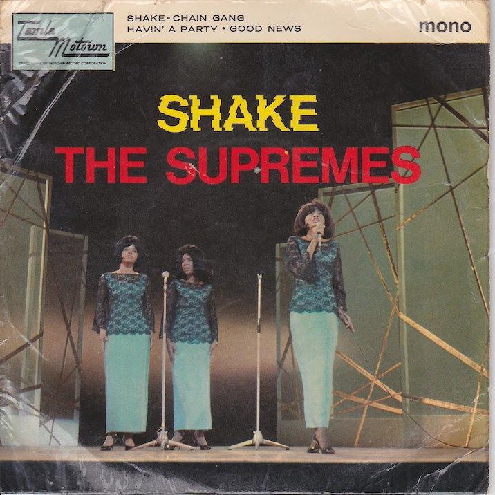 SHAKE EP   UK pressing