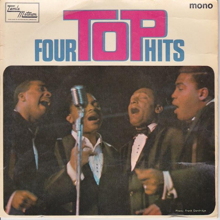 FOUR TOP HITS EP   UK pressing