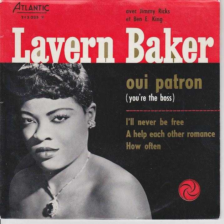 LAVERN BAKER DOU EP   French pressing