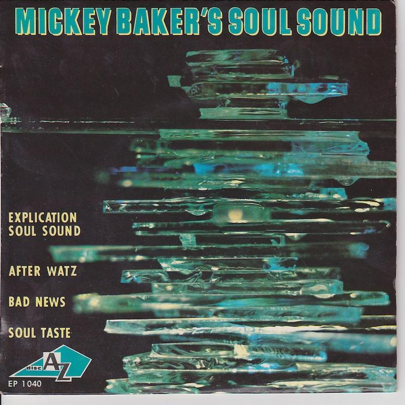 MICKEY BAKER'S SOUL SOUND EP   French pressing