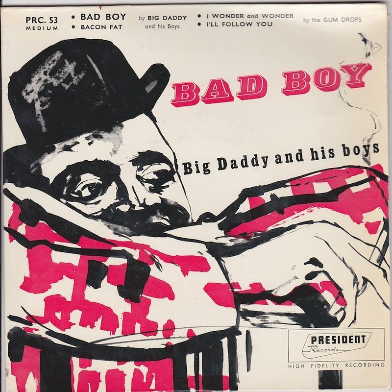 BAD BOY EP   French pressing