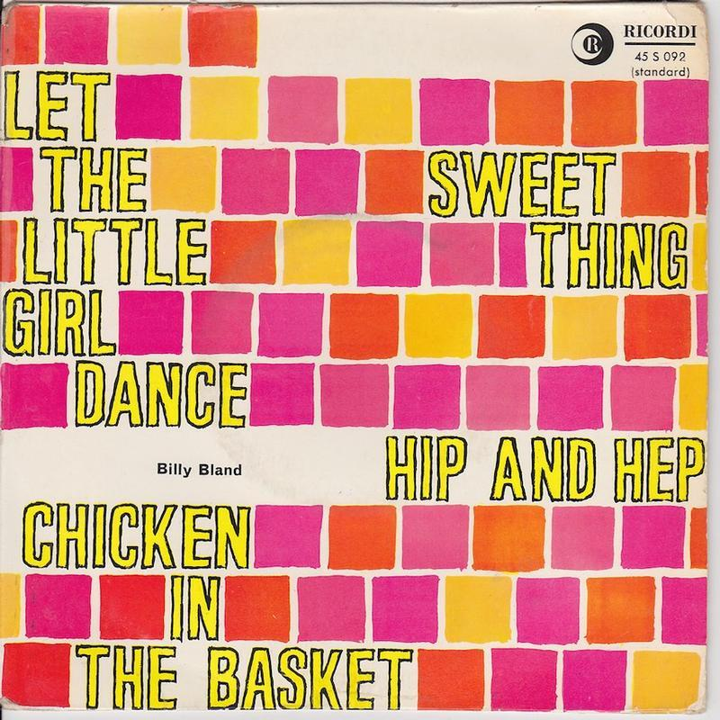 LET THE LITTLE GIRL DANCE EP   French pressing