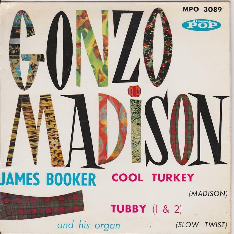 GONZO MADISON EP   French pressing
