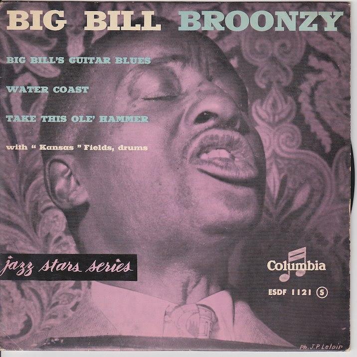 BIG BILL'S GUITAR BLUES EP   French pressing