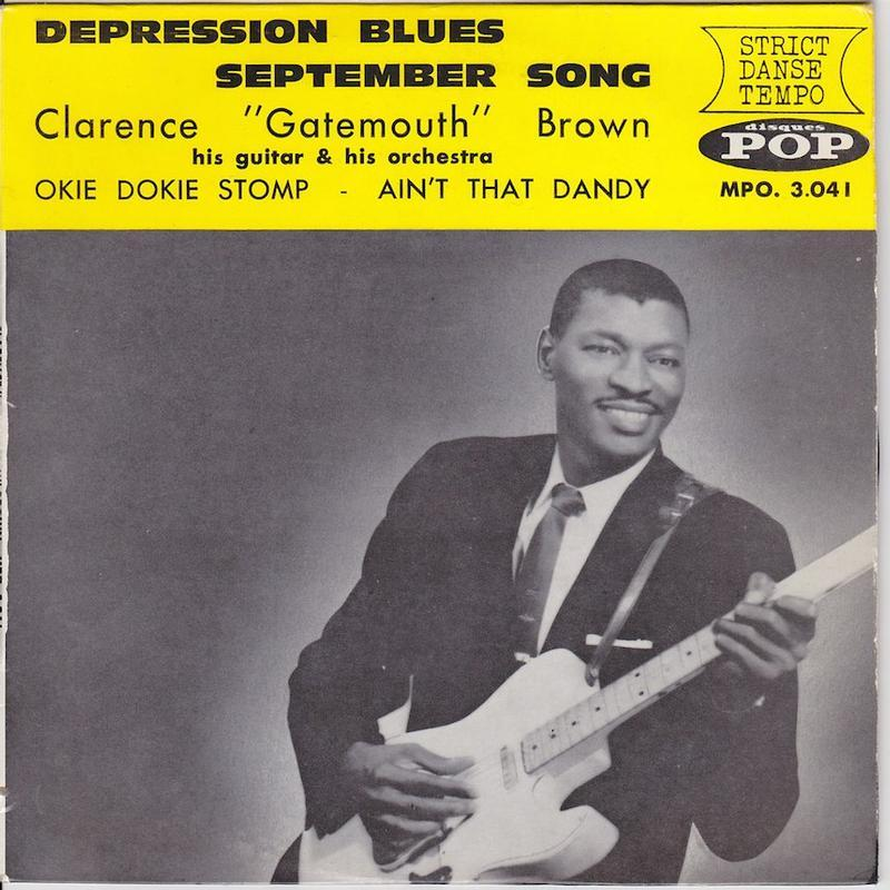 DEPRESSION BLUES EP   French pressing
