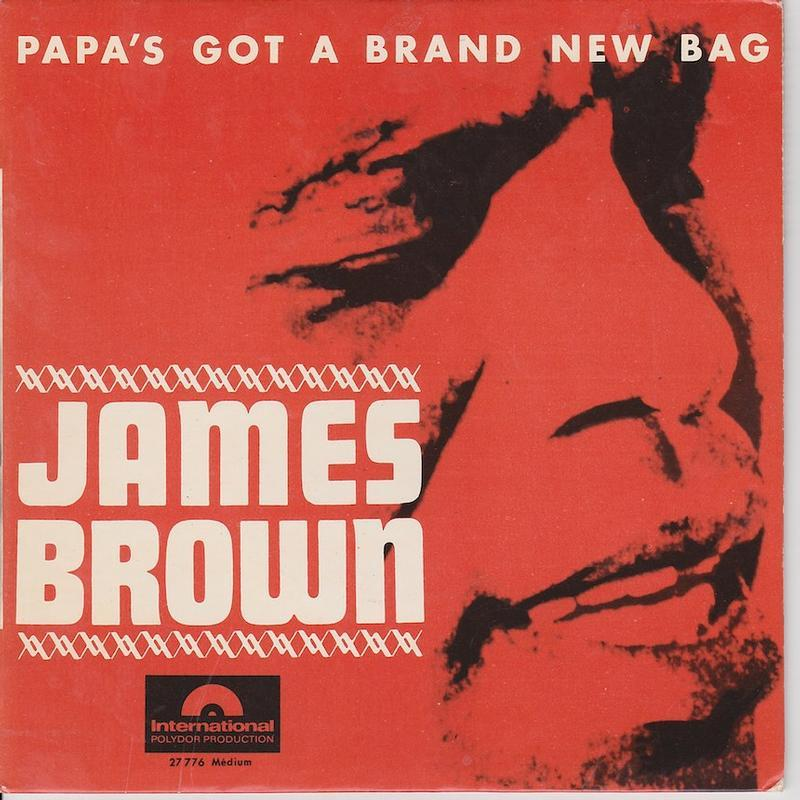 PAPA'S GOT A BRAND NEW BAG EP   French pressing