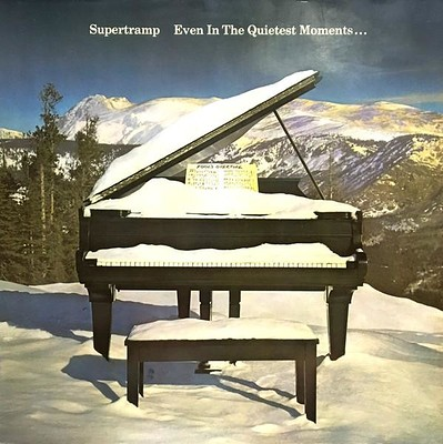 SUPERTRAMP - EVEN IN THE QUIETEST MOMENTS... German 80:s re-issue (LP)