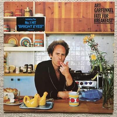 "GARFUNKEL, ART - FATE FOR BREAKFAST Dutch 2nd edition, sunburst labels, including ""Bright eyes"" (LP)"