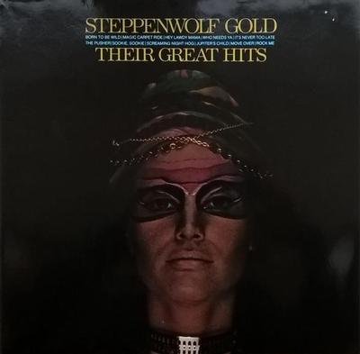 STEPPENWOLF - GOLD - THEIR GREATEST HITS German 80:s re-issue (LP)