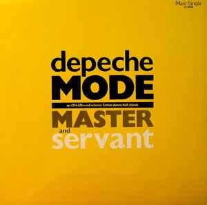 "DEPECHE MODE - MASTER AND SERVANT German 1990 re-issue (12"")"