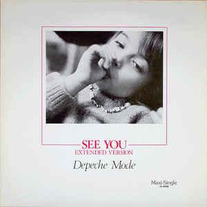"DEPECHE MODE - SEE YOU German 2nd edition, 1987 (12"")"