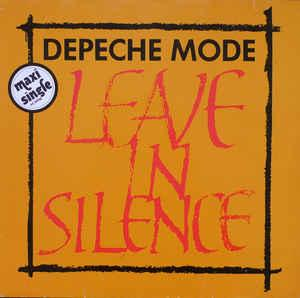 "DEPECHE MODE - LEAVE IN SILENCE German 2nd edition, 1986 (12"")"