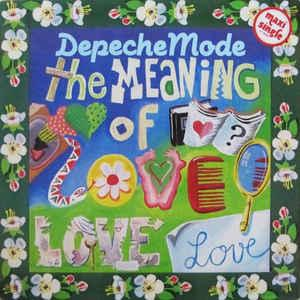 "DEPECHE MODE - THE MEANING OF LOVE German 1990 re-issue (12"")"