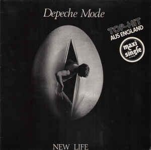 "DEPECHE MODE - NEW LIFE German 1984 re-issue (12"")"
